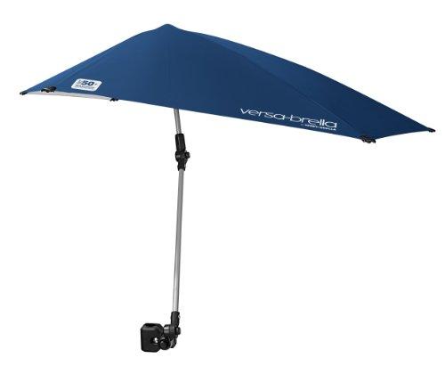 Sport-Brella Versa-Brella 4-Scheme Swiveling Solar Umbrella (Center of the evening Blue), 38×39