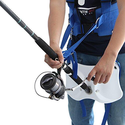 Pellor Offshore Stand Up Fishing Fighting Belt Shoulder Reduction Harness Total Kit