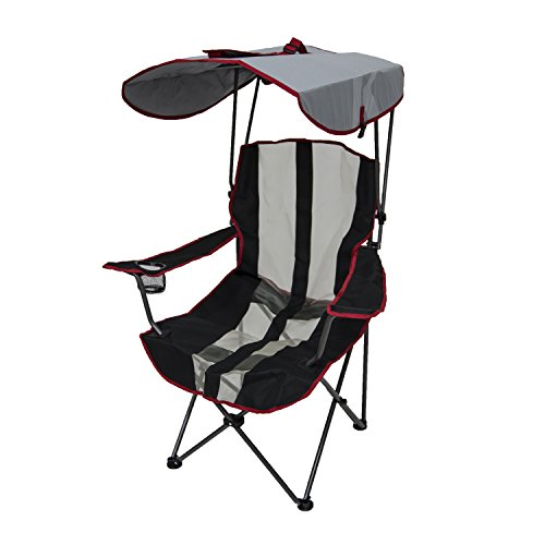 Kelsyus Customary Camouflage Chair – Foldable Chair for Camping, Tailgates, and Initiate air Events – Crimson Stripe