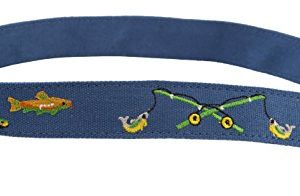 Myself Belts – Toddler and Teenagers Belt for Boys – Fishing (6)