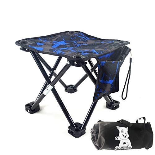 BubbyBear Little Folding Chair,Portable Lightweight Waterproof 600D Oxford Originate air Folding Chair for Camping Fishing Scramble Hiking picnic Coastline Snappy Fold Chair Stool