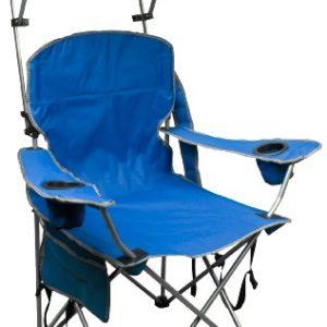 Quik Shade Adjustable Veil Folding Camp Chair – Royal Blue