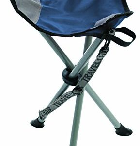 TravelChair Slacker Chair, Tripod Stool, Blue