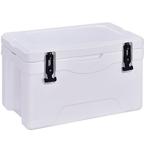Giantex 32 Quart Heavy Accountability Cooler Ice Chest Open air Insulated Cooler Fishing Looking out Sports