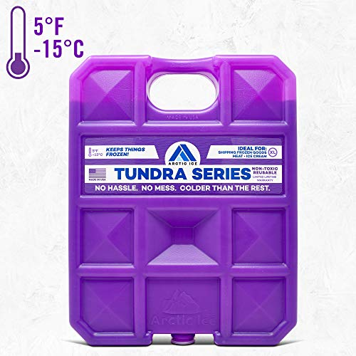 Lengthy Lasting Ice Pack for Coolers, Tenting, Fishing and Extra, X-Trim Reusable Ice Pack, Tundra Sequence by Arctic Ice