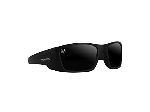 Waves Polarized Sport Floating Sunglasses: Un-Sinkable Plastic Glasses for Fishing, Seaside Volleyball, Boating, Sailing, Swimming and Extra: Shadowy