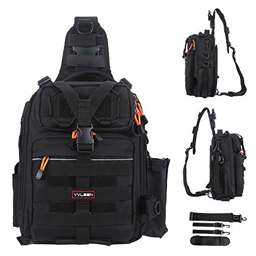 Fishing Kind out Backpack – Yvleen Outdoors Fishing Kind out Box Get Waterproof Shoulder Backpack Fishing Gear – Saltwater Fishing Kind out Instrument Box Get