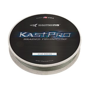 KastKing KastPro Braided Fishing Line,Gloomy Out,300Yds,50LB