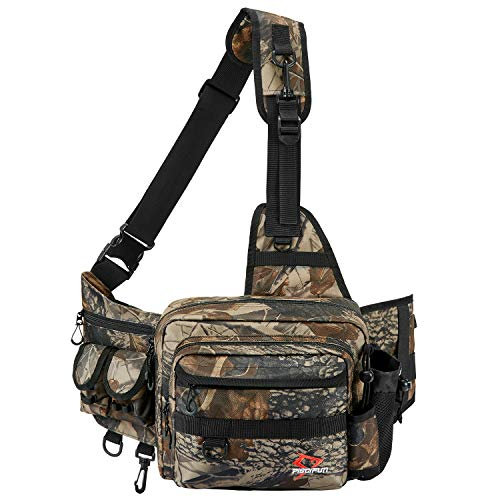 Piscifun Sling Fishing Form out Catch,Out of doorways Fishing Storage Pack,Water-Resistant Fishing Catch Scandalous Physique Sling Catch Camouflage