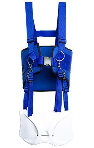 GAFFER SPORTFISHING Shoulder Fishing Harness with Combating Belt Rod Holder – Blue