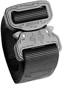 Cobra Swiftly Unlock Buckle Men's Cobra Belt – 1.5″ Nylon Belt Everyday Belt 1Ply
