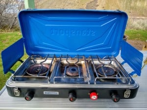 3 Burner Camping Stoves With Grill