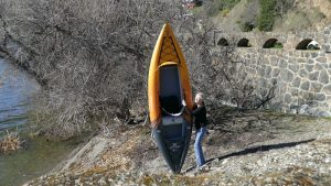 Aquaglide Deschutes 110 Inflatable Kayaks