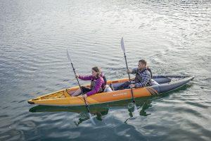 Aquaglide Deschutes 145 Tandem Inflatable Kayaks