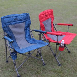 Blue Camping Chairs