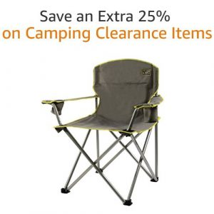 Clearance Camping Chairs