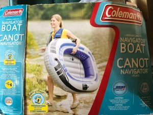 Coleman 4 Person Inflatable Boats