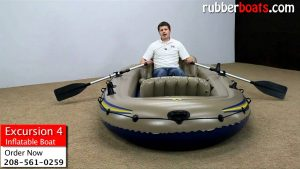 Excursion 4 Inflatable Boats