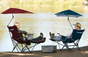 Folding Camping Chairs With Leg Rest