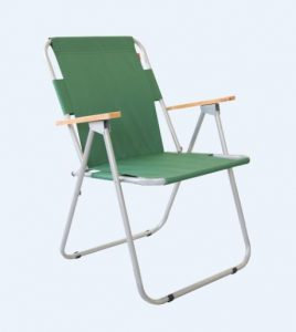 Green Folding Camping Chairs