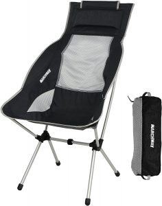 High Back Folding Camping Chairs