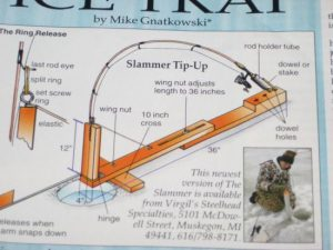 Ice Fishing Rods Tip Up