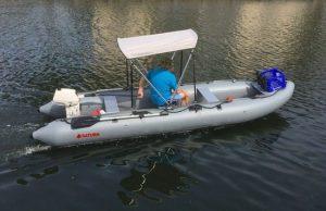 Inflatable Boats Sun Shade