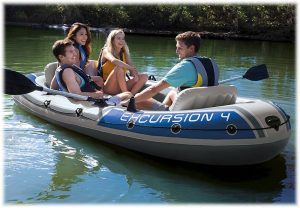 Intex 4 Person Inflatable Boats