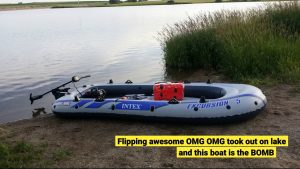 Intex 5 Person Inflatable Boats