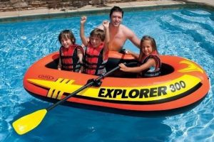 Intex Challenger 3 Inflatable Boats