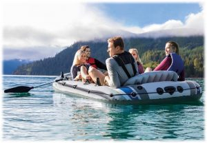 Intex Excursion 5 Person Inflatable Boats