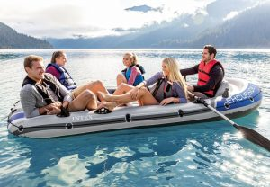 Intex Inflatable Boats With Motor