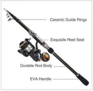 Kastking Telescopic Fishing Rods