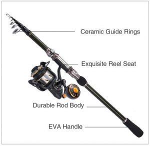 Kastking Telescopic Fishing Rods