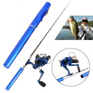 Mini Pen Fishing Rods