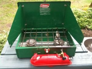 Old Coleman Camping Stoves