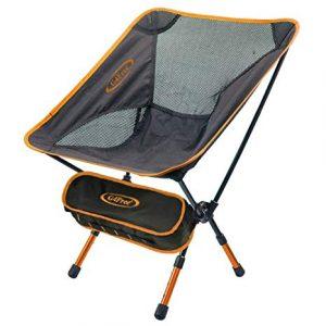 Orange Folding Camping Chairs
