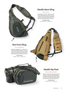 Patagonia Fly Fishing Backpacks