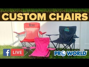 Personalized Camping Chairs For Adults