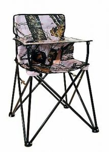 Pink Camo Camping Chairs