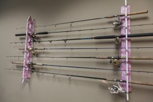 Pink Camouflage Fishing Rods