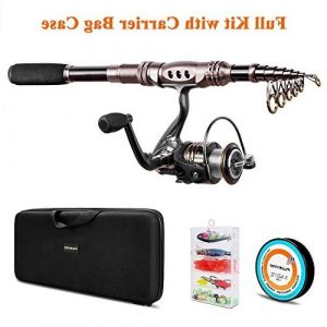 Plusinno Fishing Rods And Reel Combo