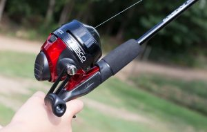Push Button Fishing Rods