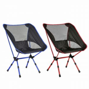 Red Folding Camping Chairs