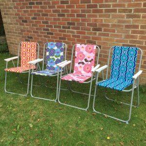 Retro Folding Camping Chairs