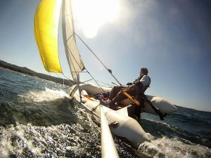 Sail For Inflatable Boats