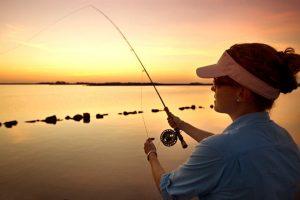 Self Setting Fishing Rods
