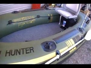 Sevylor Fish Hunter 4 Person Inflatable…
