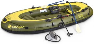 Sevylor Hf 360 Fish Hunter Inflatable…