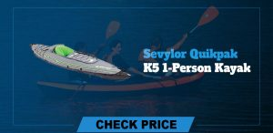 Sevylor Quikpak K5 Inflatable Kayaks